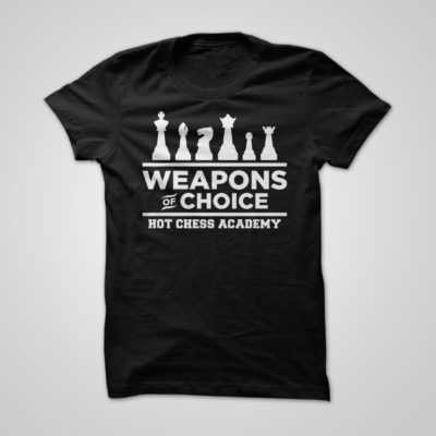 HOT Chess - Weapons of Choice T-Shirt